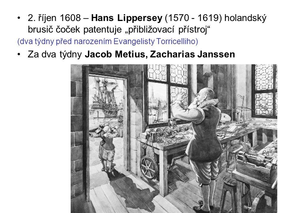 Za dva týdny Jacob Metius, Zacharias Janssen