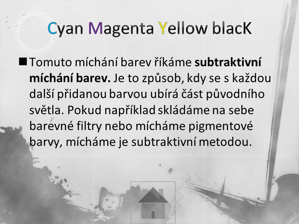 Cyan Magenta Yellow blacK