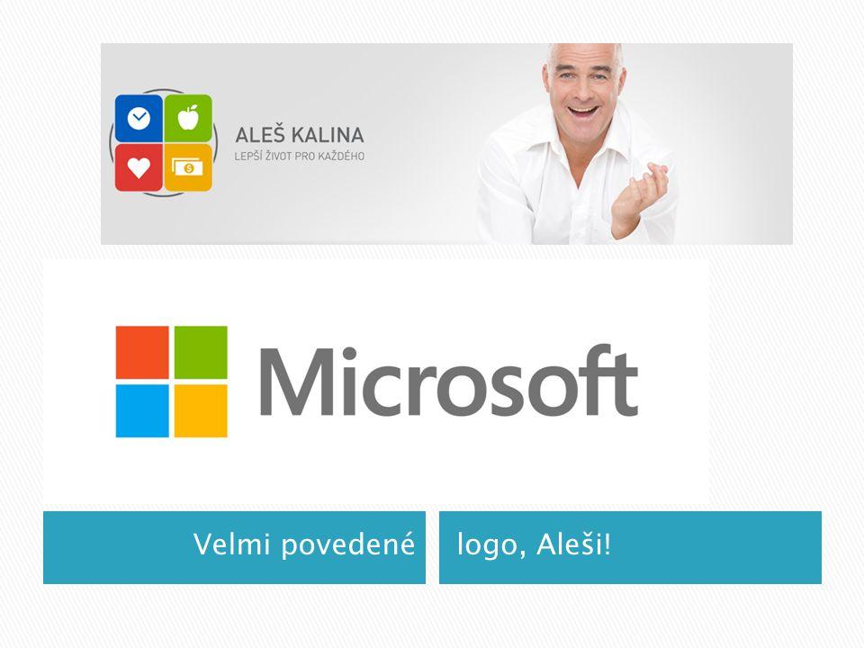 Velmi povedené logo, Aleši!