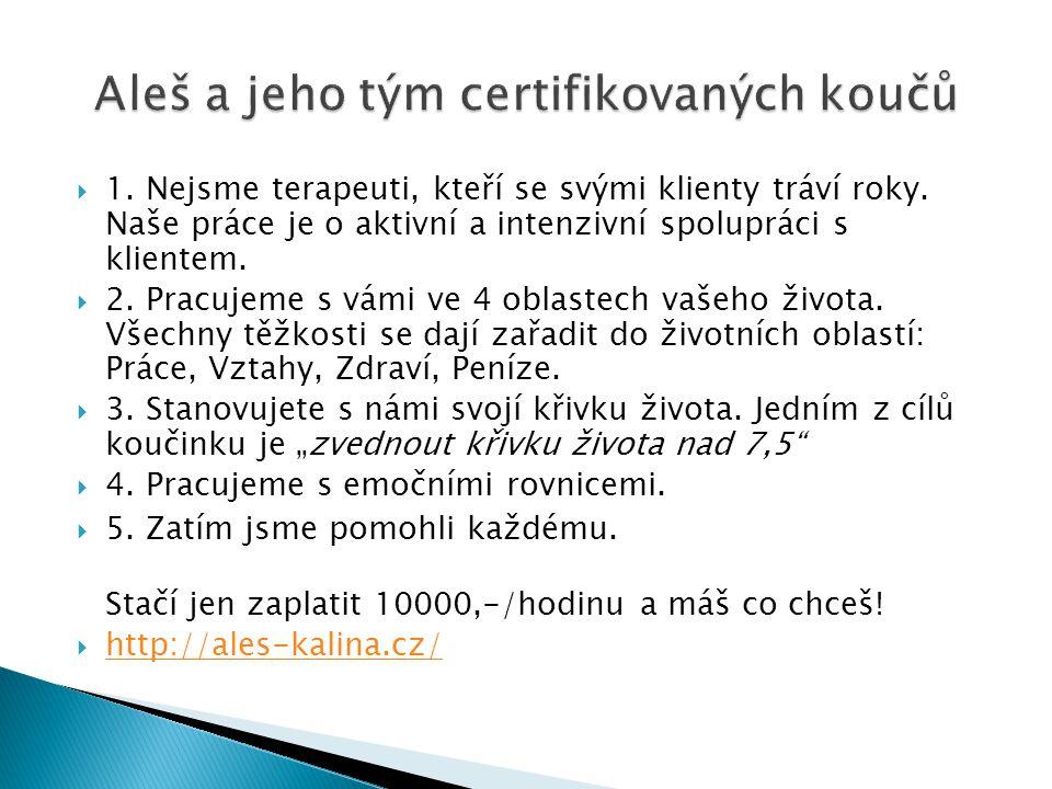 Aleš a jeho tým certifikovaných koučů