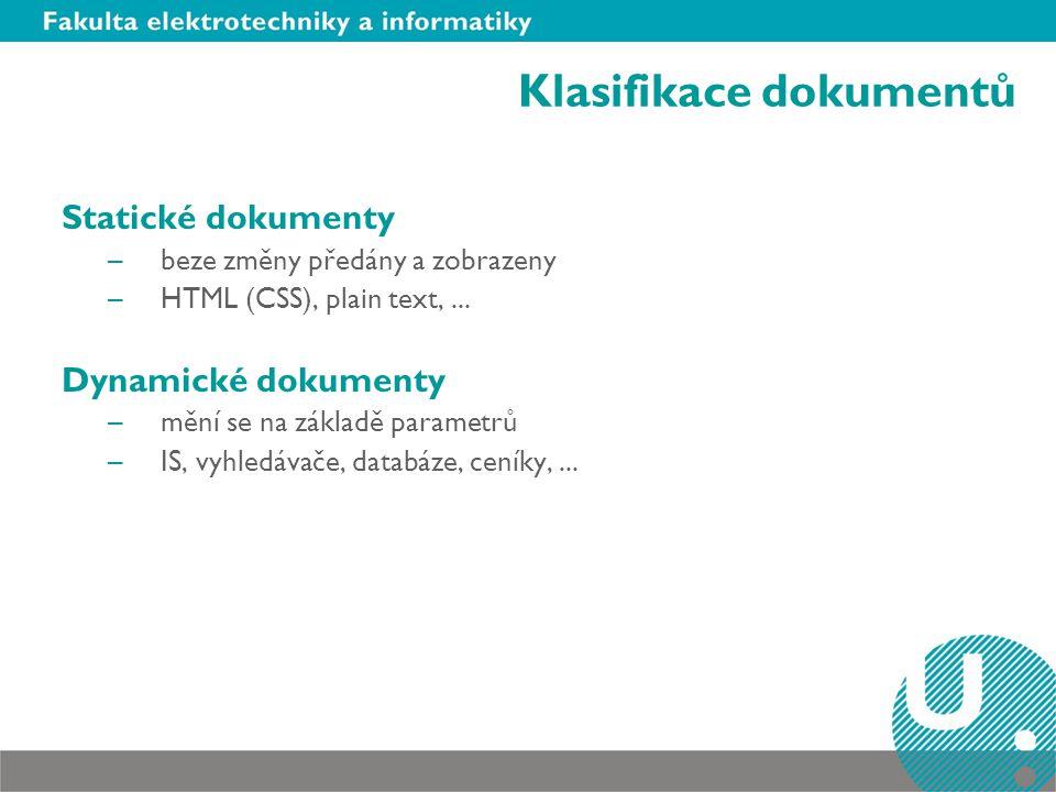Klasifikace dokumentů