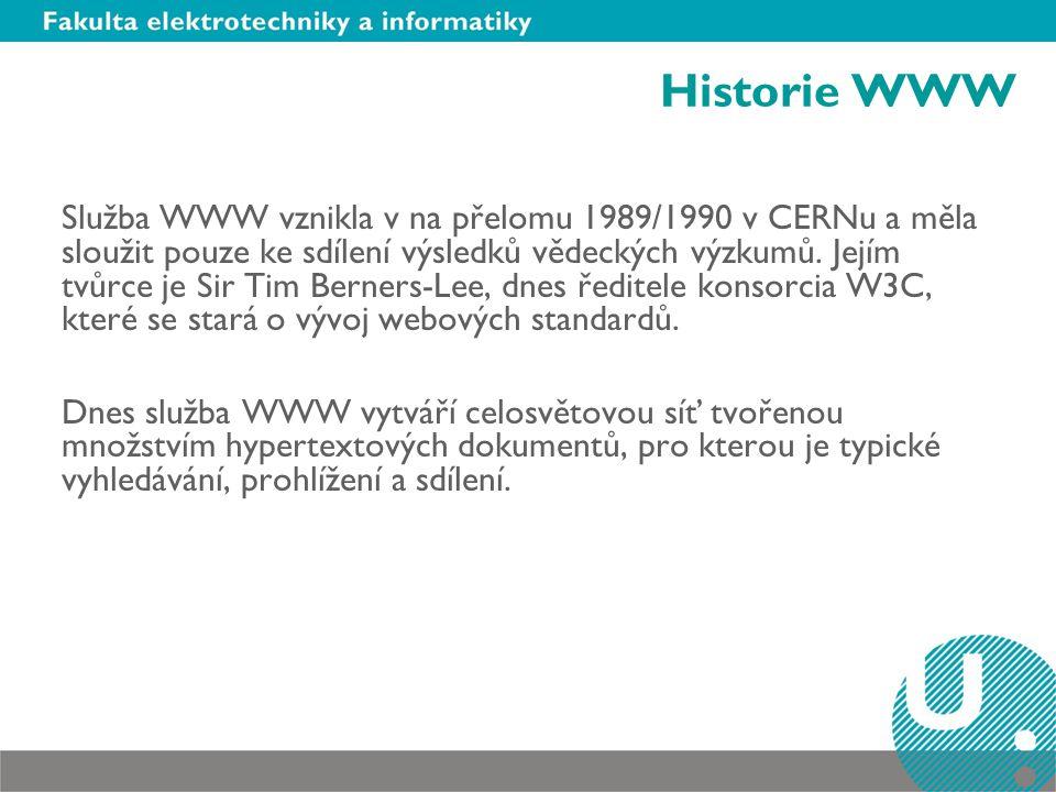 Historie WWW