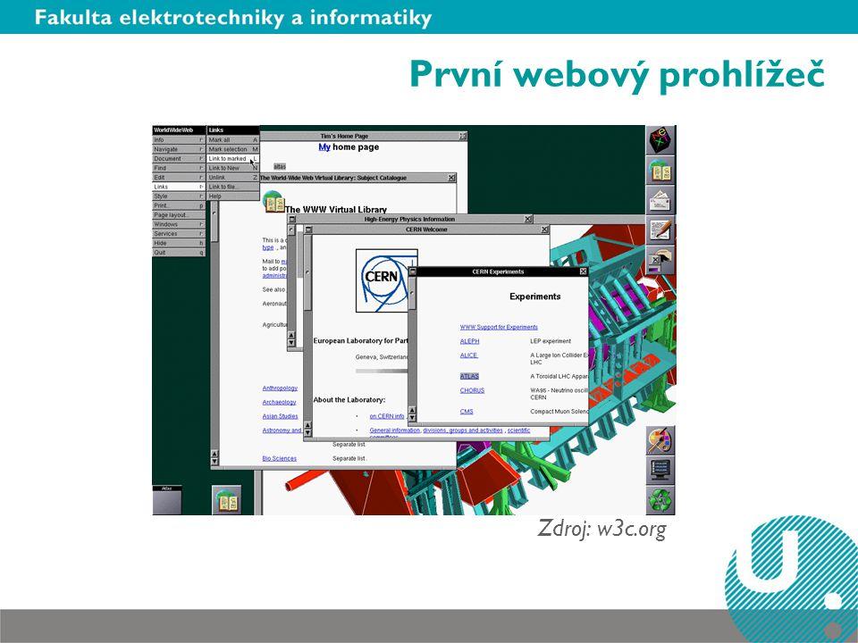 První webový prohlížeč