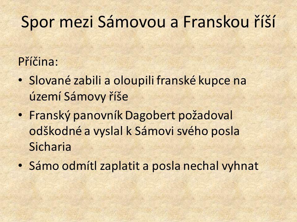 Spor mezi Sámovou a Franskou říší