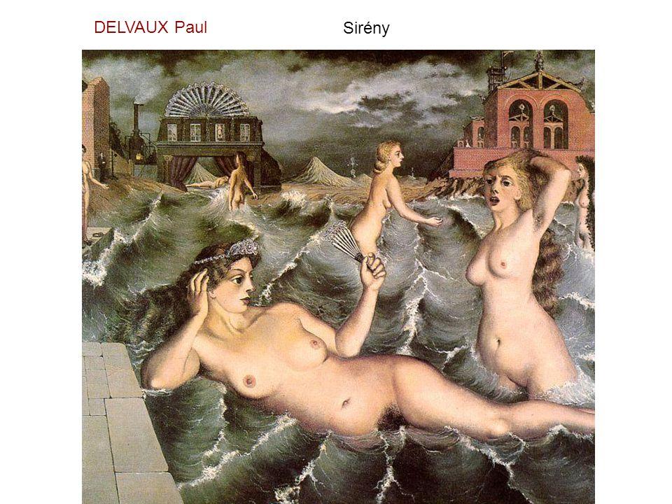 DELVAUX Paul Sirény