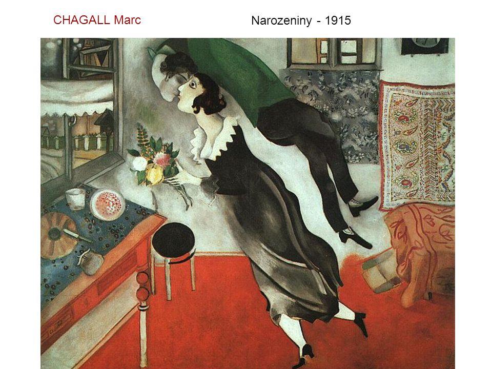 CHAGALL Marc Narozeniny - 1915