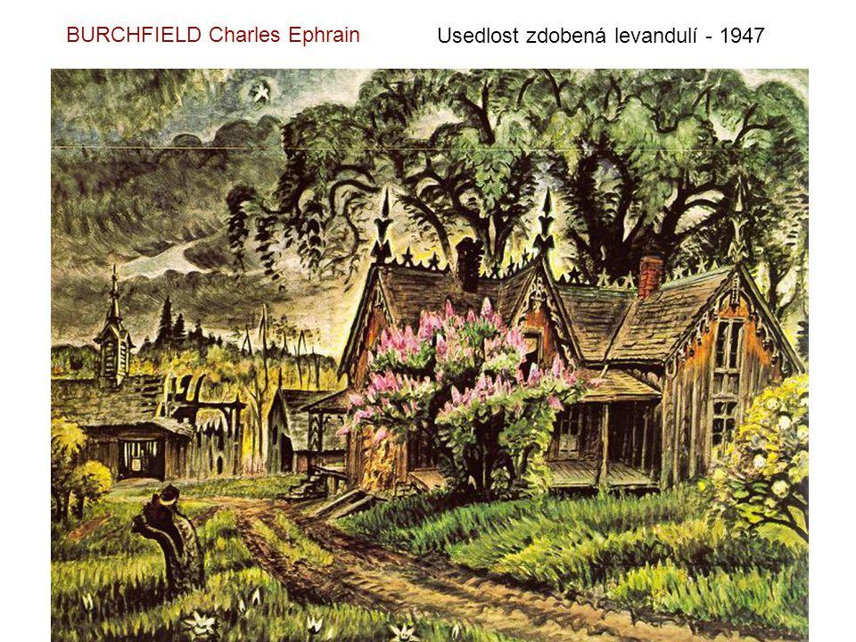 BURCHFIELD Charles Ephrain