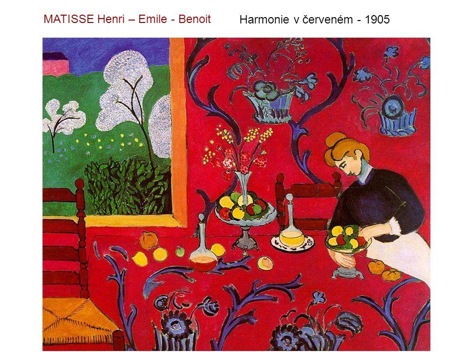 MATISSE Henri – Emile - Benoit