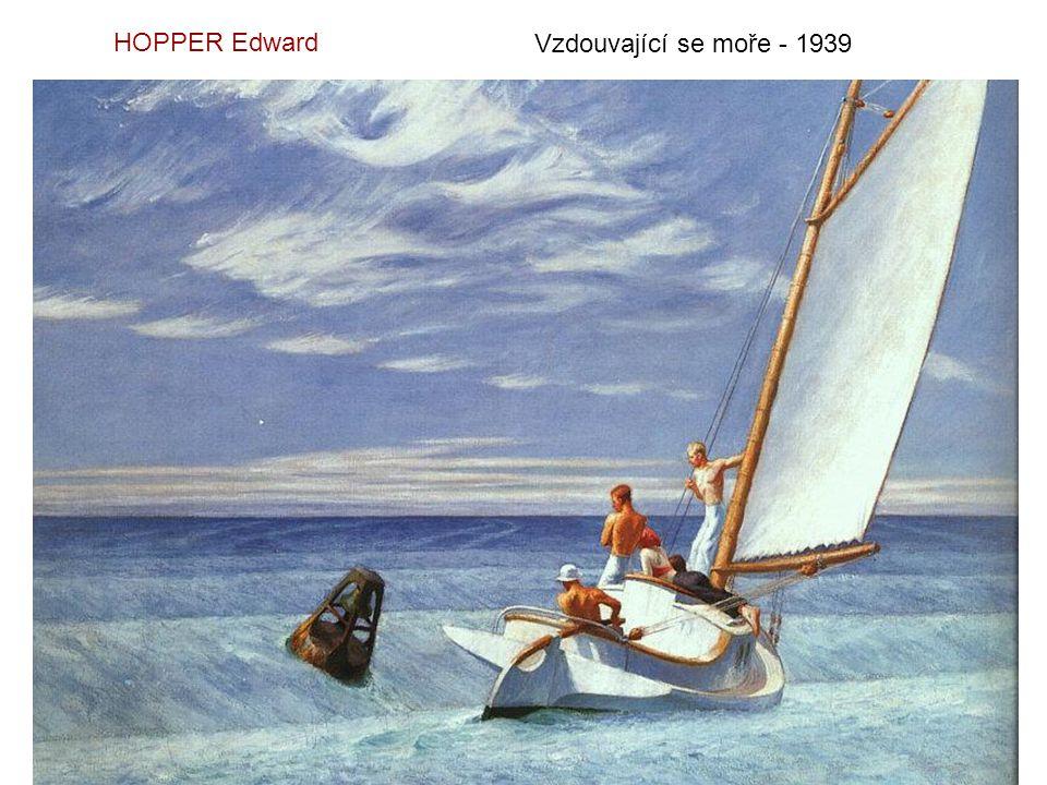 HOPPER Edward Vzdouvající se moře - 1939