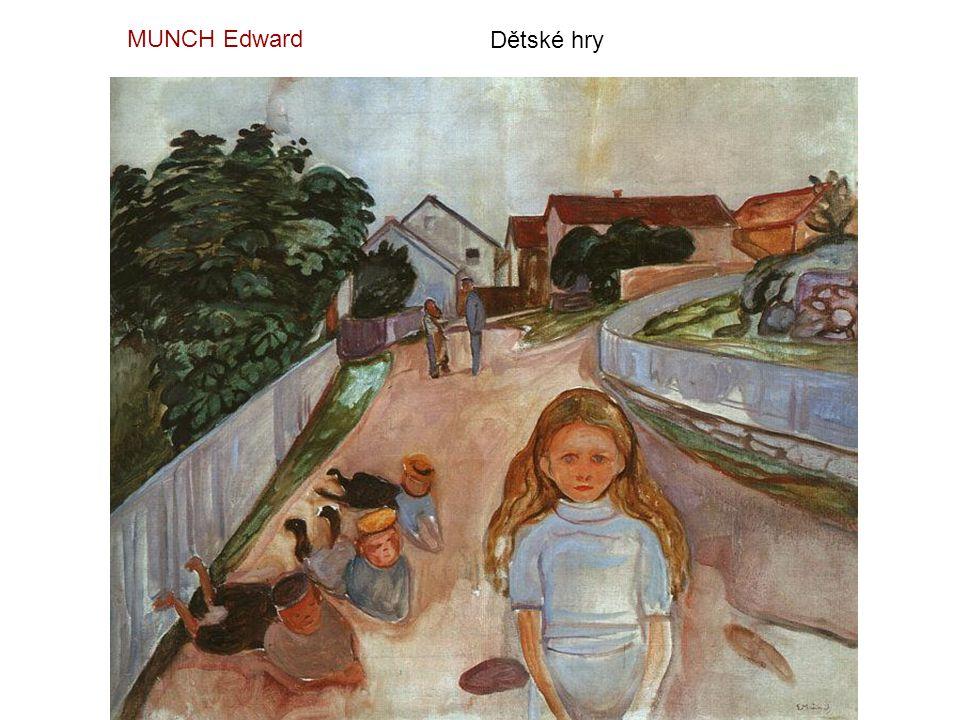 MUNCH Edward Dětské hry
