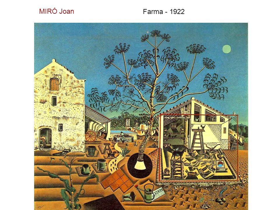 MIRÓ Joan Farma - 1922