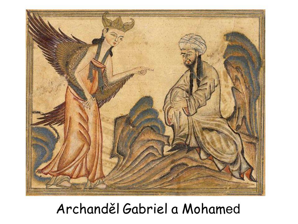 Archanděl Gabriel a Mohamed