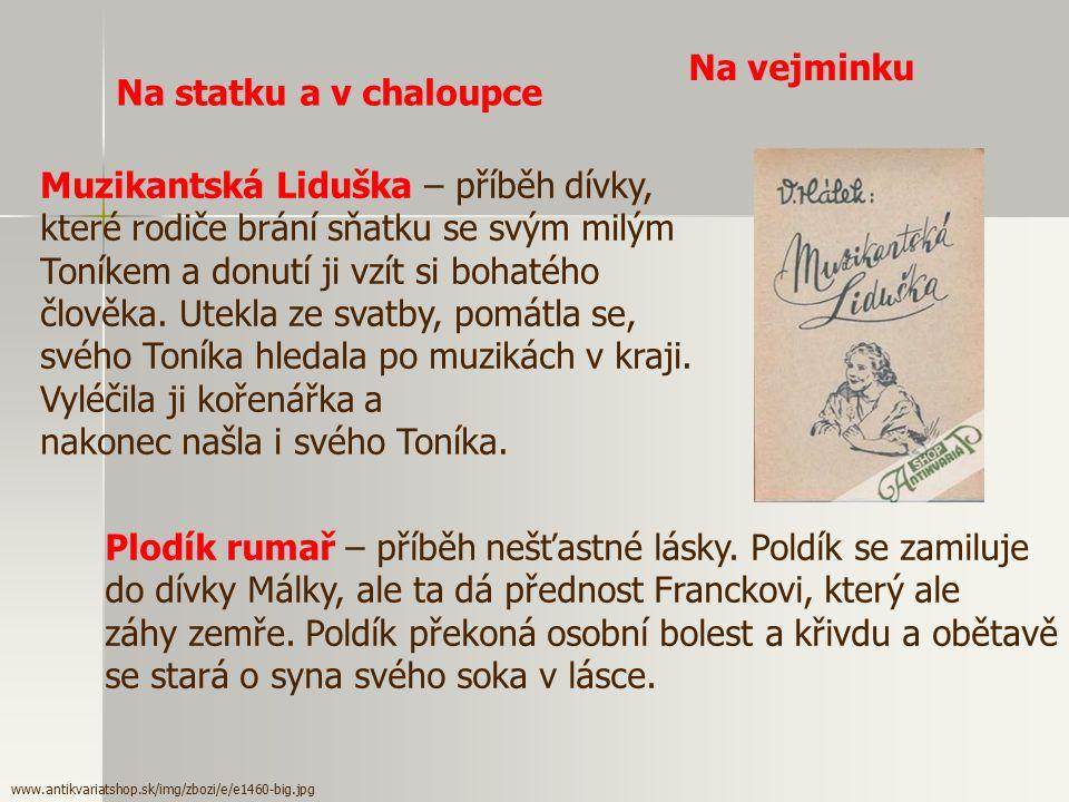 Muzikantská Liduška – příběh dívky,