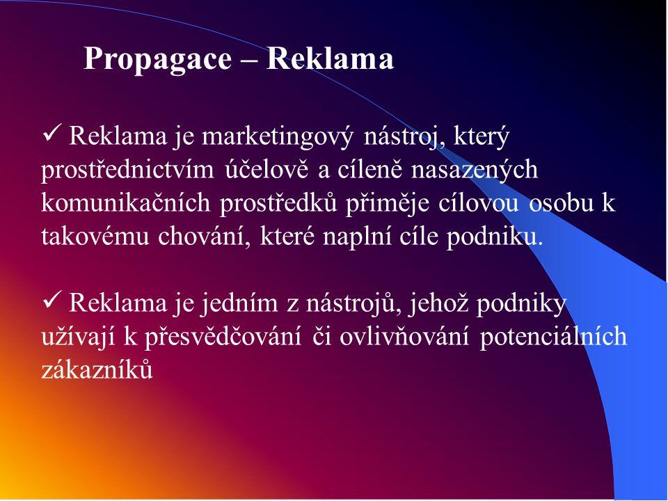 Propagace – Reklama