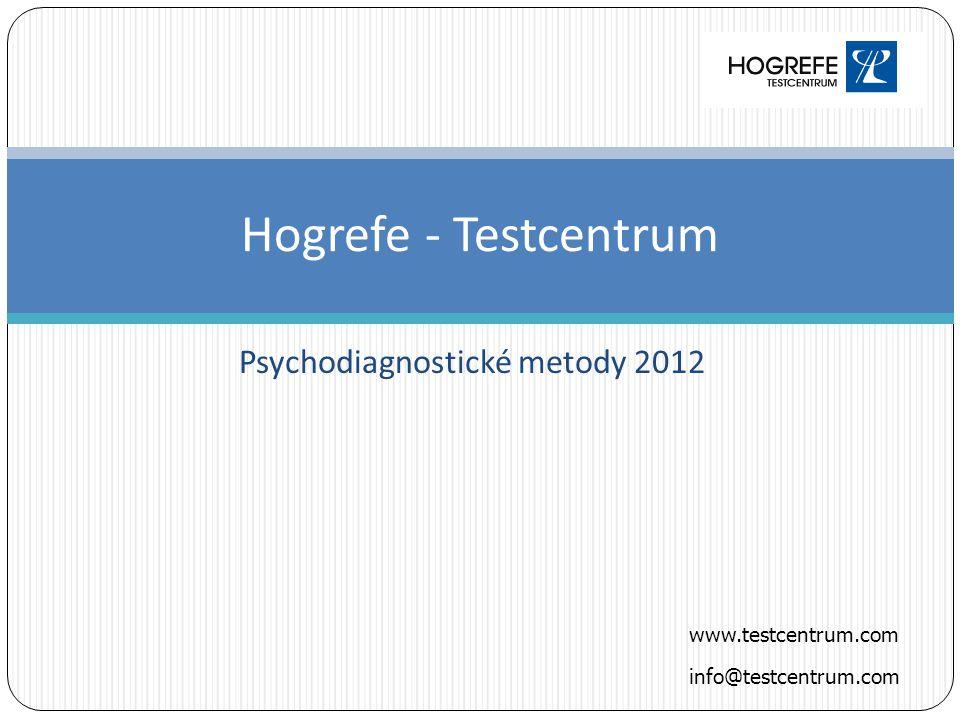Psychodiagnostické metody 2012
