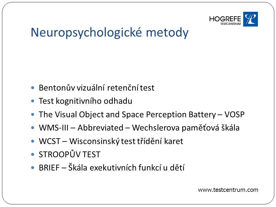 Neuropsychologické metody