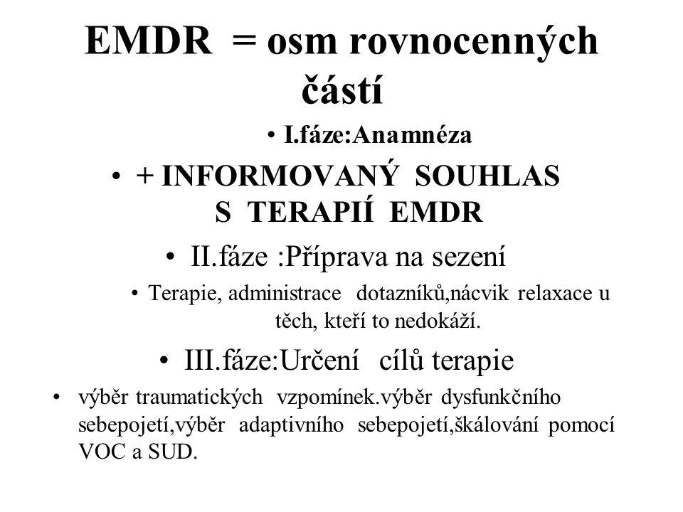 EMDR = osm rovnocenných částí