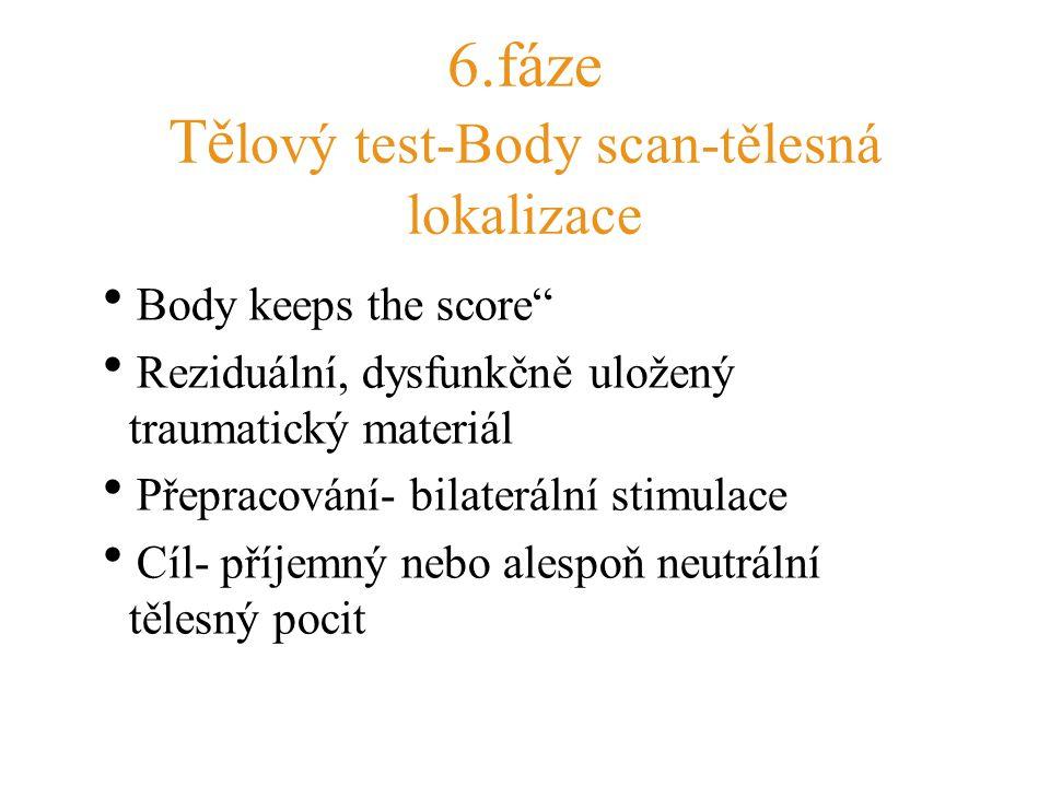 6.fáze Tělový test-Body scan-tělesná lokalizace