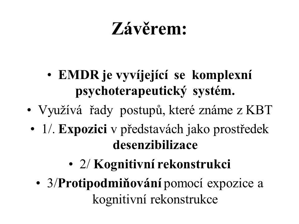 EMDR je vyvíjející se komplexní psychoterapeutický systém.