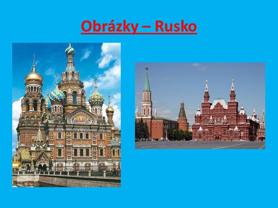 Obrázky – Rusko