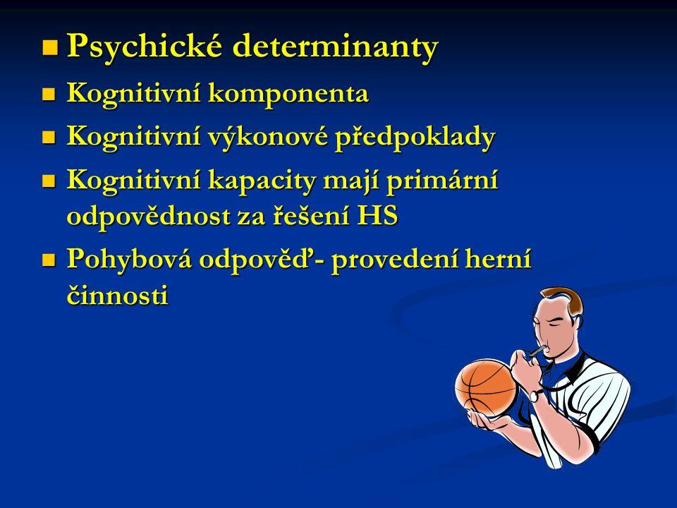 Psychické determinanty