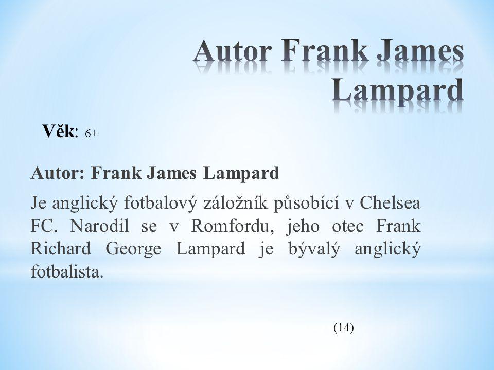 Autor Frank James Lampard