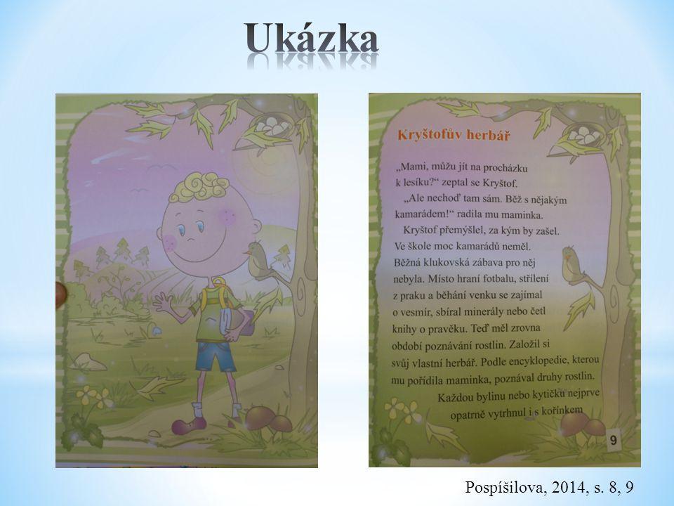 Ukázka Pospíšilova, 2014, s. 8, 9