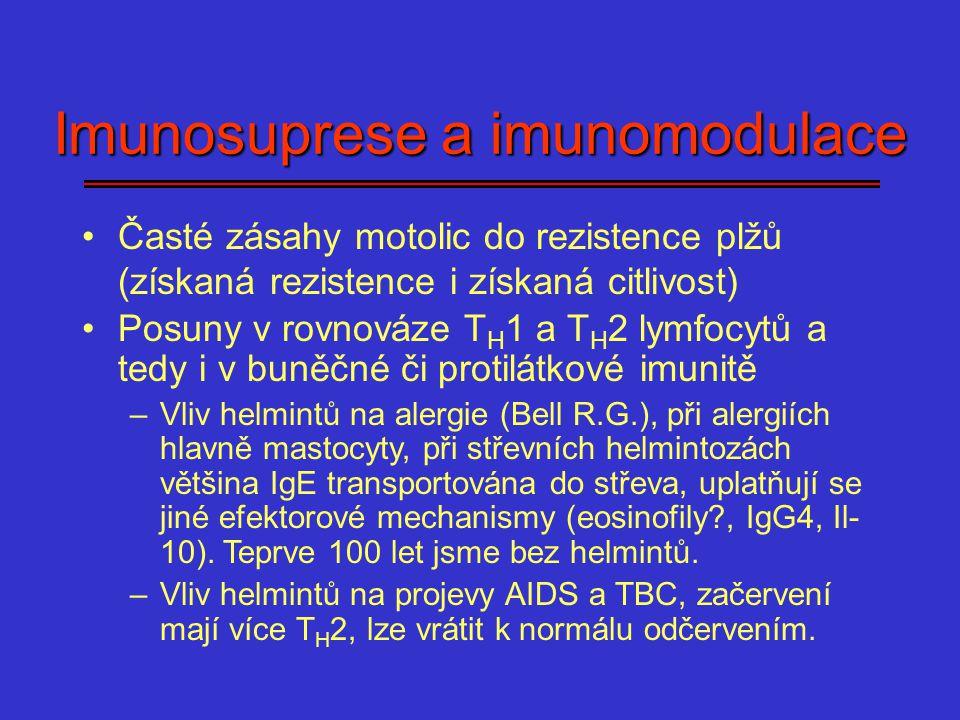 Imunosuprese a imunomodulace