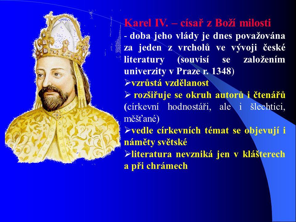 Karel IV. – císař z Boží milosti