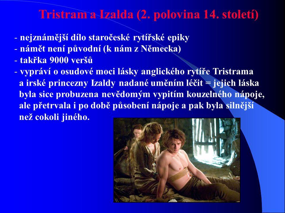 Tristram a Izalda (2. polovina 14. století)