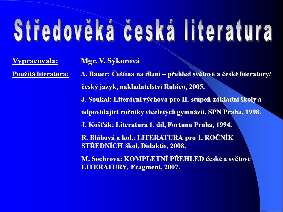 Středověká česká literatura