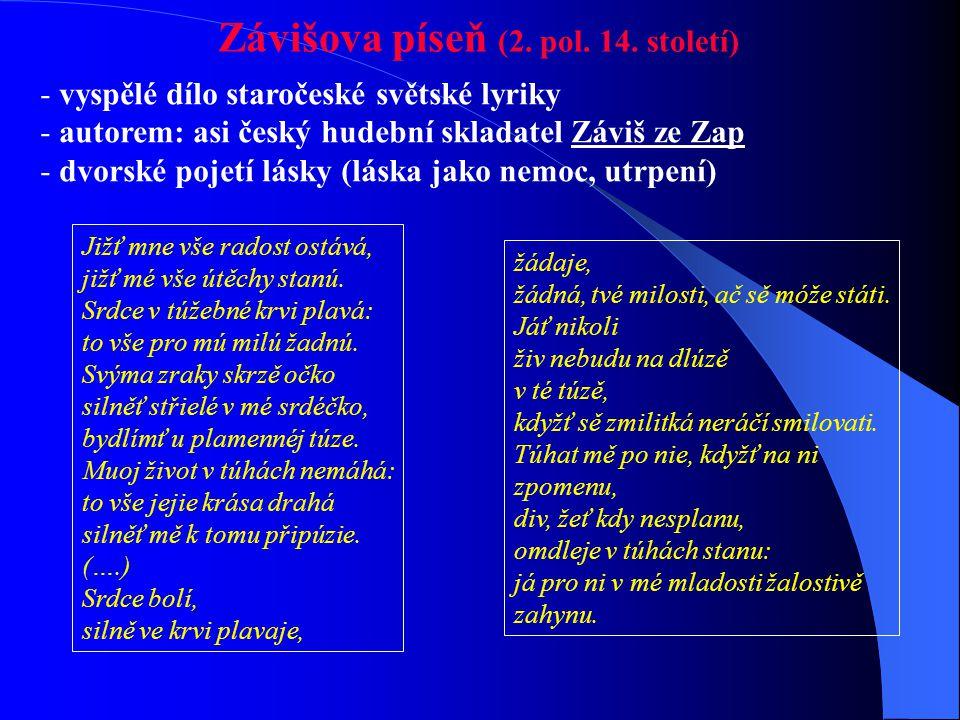 Závišova píseň (2. pol. 14. století)