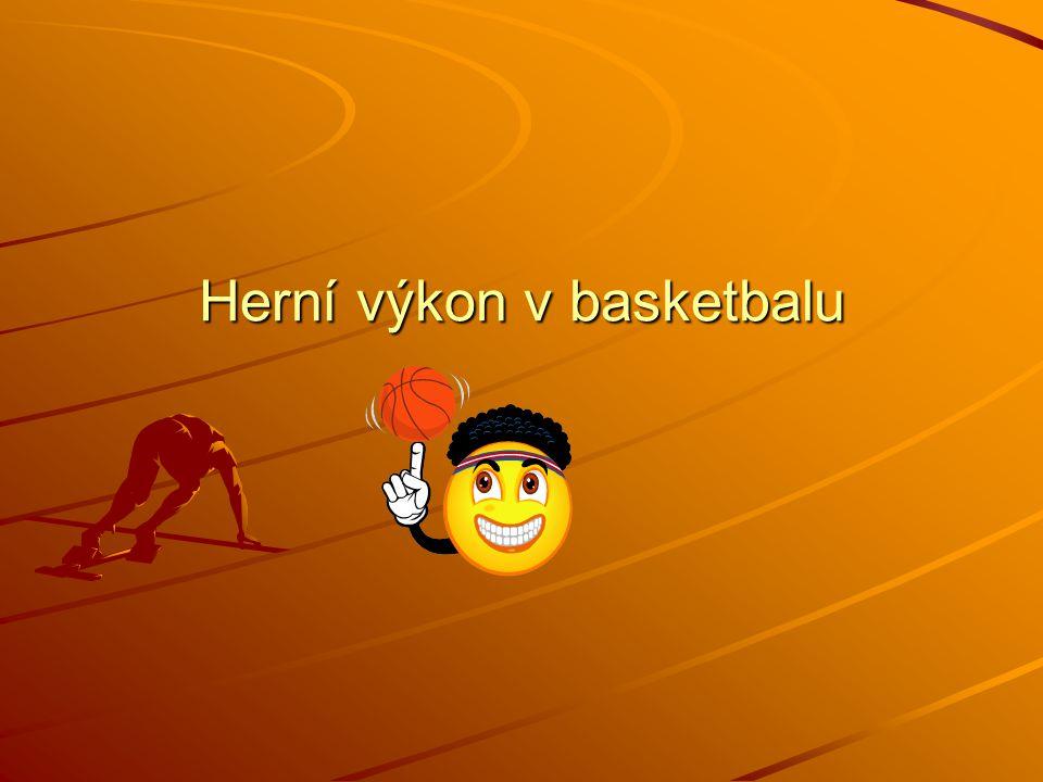 Herní výkon v basketbalu