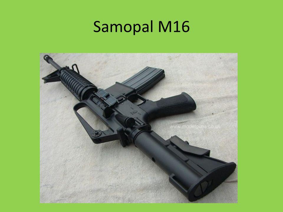 Samopal M16