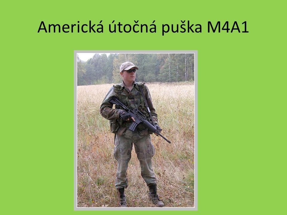 Americká útočná puška M4A1