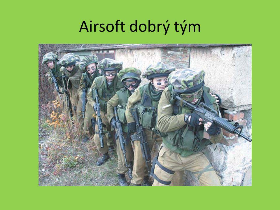 Airsoft dobrý tým