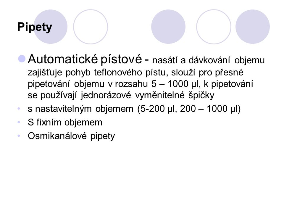Pipety