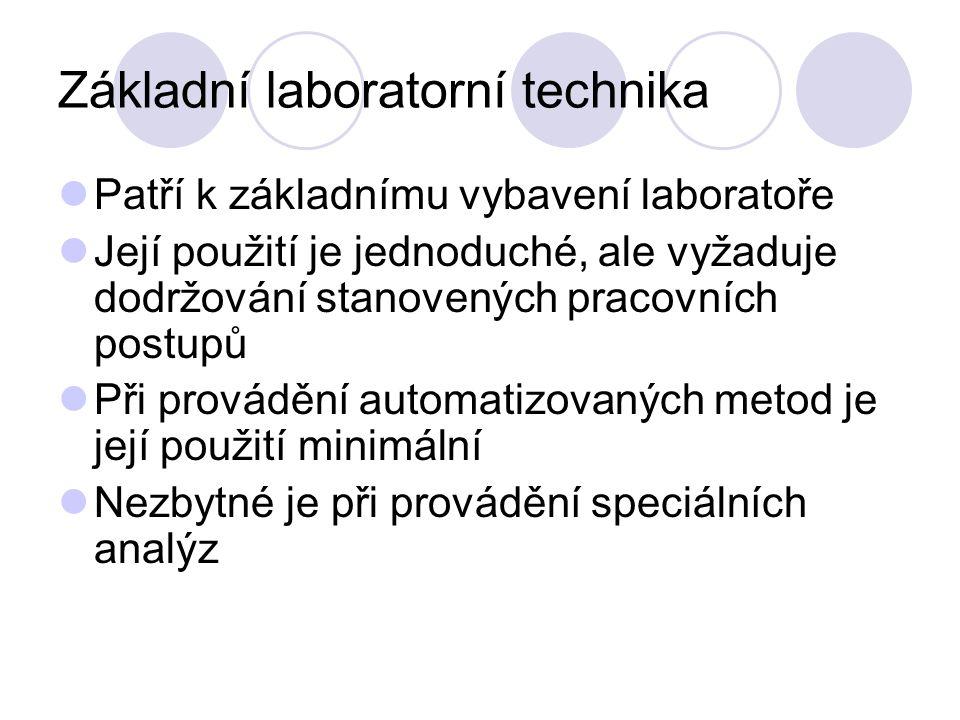Základní laboratorní technika
