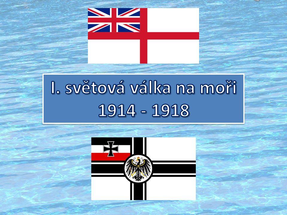 I. světová válka na moři 1914 - 1918
