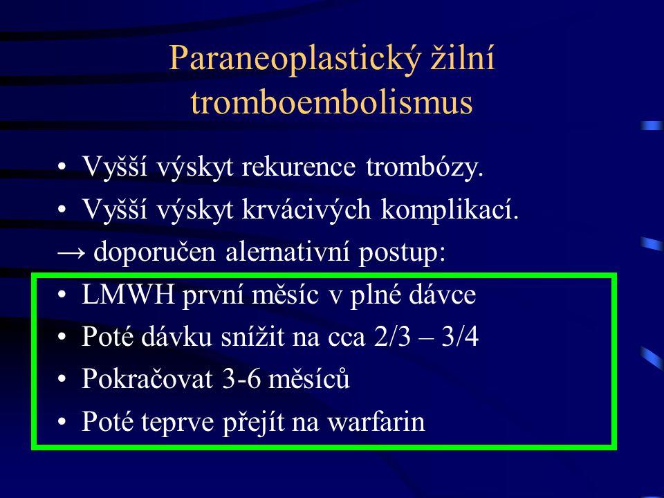 Paraneoplastický žilní tromboembolismus