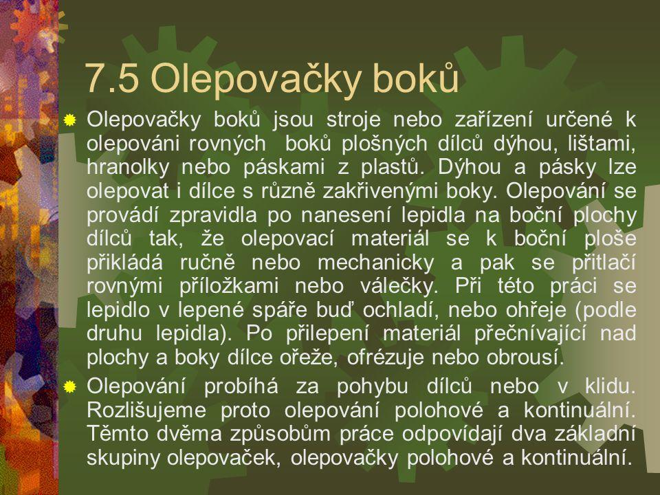 7.5 Olepovačky boků