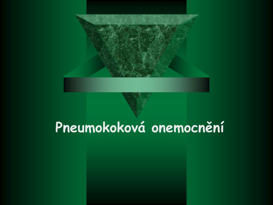 Pneumokoková onemocnění