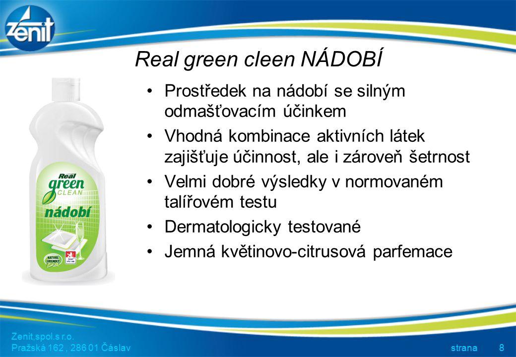 Real green cleen NÁDOBÍ