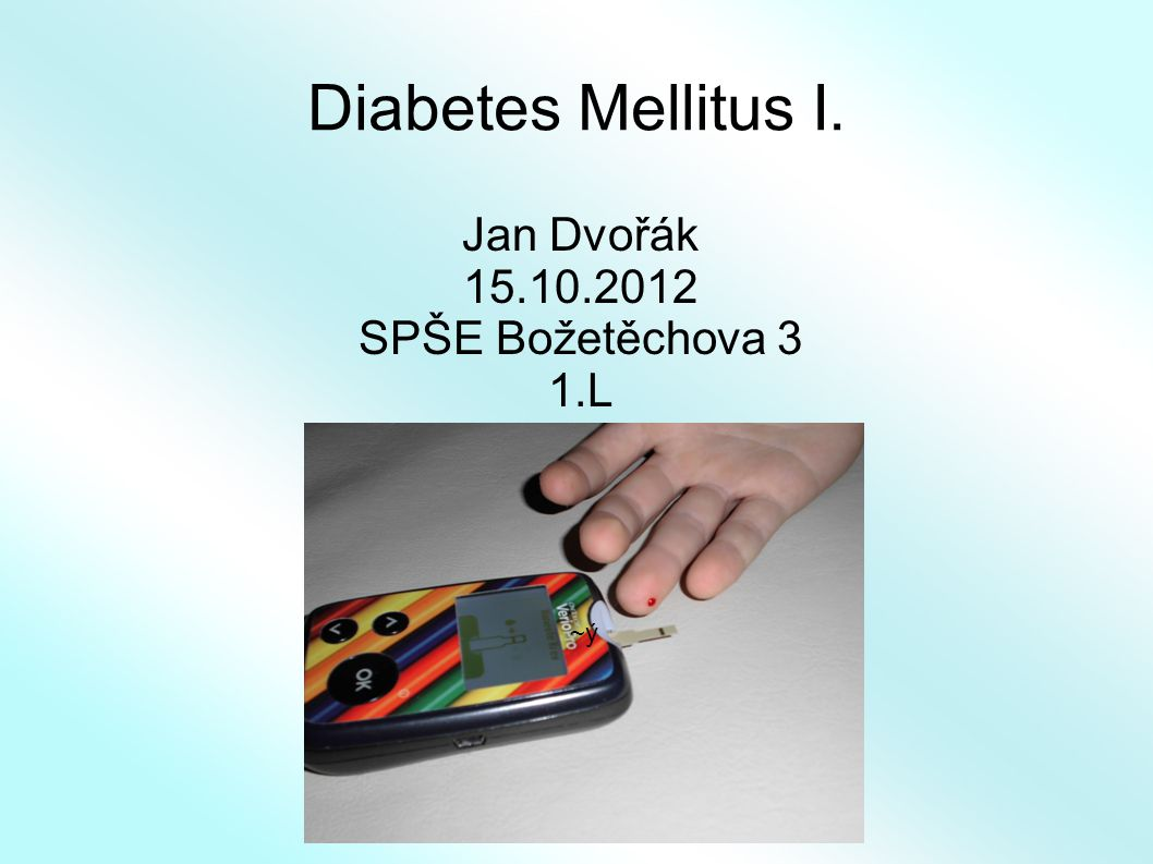 Jan Dvořák 15.10.2012 SPŠE Božetěchova 3 1.L