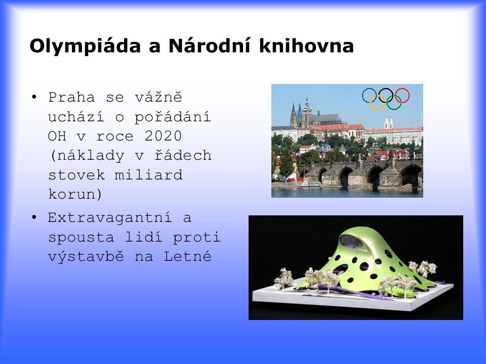 Olympiáda a Národní knihovna