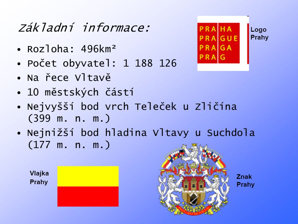 Základní informace: Rozloha: 496km² Počet obyvatel: 1 188 126