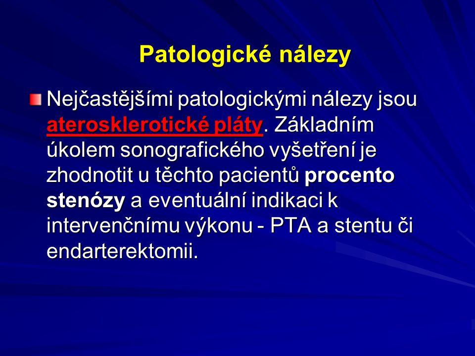 Patologické nálezy