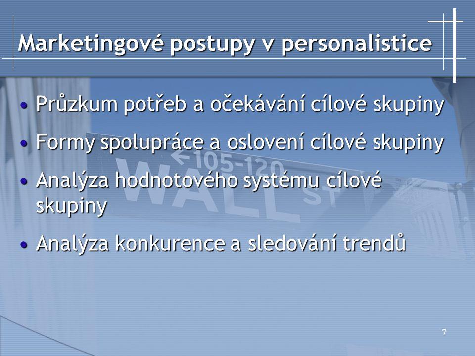 Marketingové postupy v personalistice