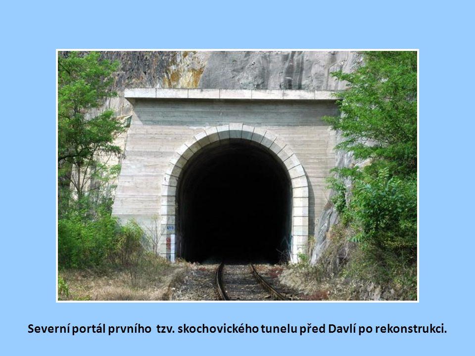 Severní portál prvního tzv