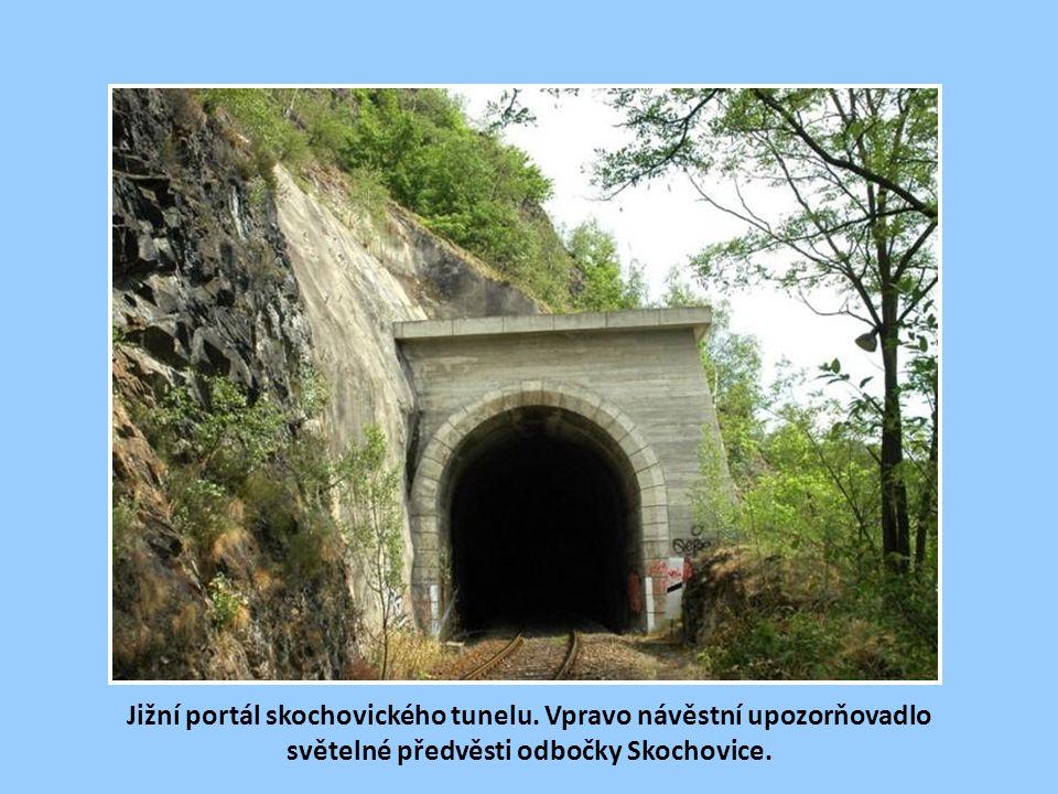 Jižní portál skochovického tunelu
